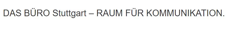 Seminarraum Dürrlewang (Stuttgart) - DAS BÜRO: Konferenzraum, Tagungsraum, Veranstaltungsraum, Eventlocation